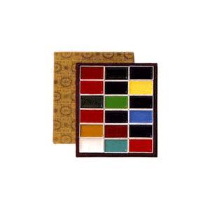 吉祥 顔彩(がんさい) 12色セット(布張)|kawachigazai
