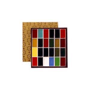 吉祥 顔彩(がんさい) 24色セット(布張)|kawachigazai