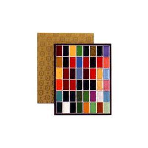 吉祥 顔彩(がんさい) 48色セット(布張)|kawachigazai