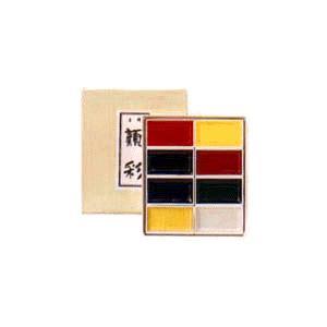吉祥 顔彩(がんさい) 8色セット|kawachigazai
