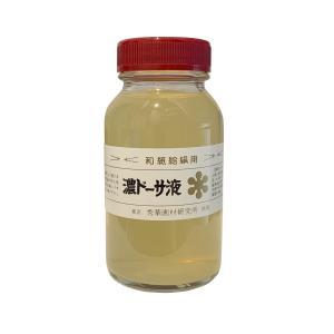 濃ドーサ液(のうどーさえき) 瓶入 150cc 日本画 にじみ止|kawachigazai