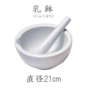 ホルベイン 乳鉢(にゅうばち) すり棒付 21cm (お取り寄せ商品)|kawachigazai