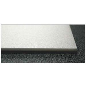 建築模型材料 ハードスチレンペーパー (両面紙なし) 約640x945mm 2mm厚 1枚単位|kawachigazai
