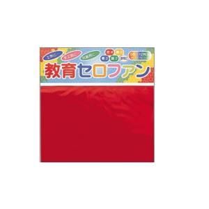 トーヨー 教育セロファン 15×15cm 12枚入(5色)