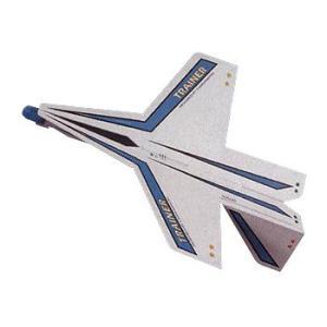 プレカット紙飛行機 TRAINER 314-181 完成サイズ:W155×D124mm|kawachigazai