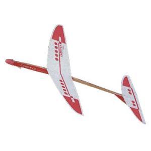 高性能スタンダード紙飛行機 CANDY-LX2 314-187 完成サイズ:W210×D176mm|kawachigazai