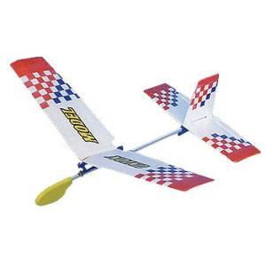 手投げグライダー(角翼)TA-04 低・中学年向 314-152 完成サイズ:W395×D345mm|kawachigazai