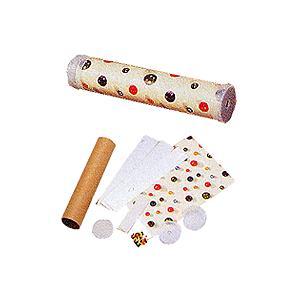 [人気のまんげきょう制作キット]  紙管にはる模様のある紙からすべてがセットになった人気商品。 企業...