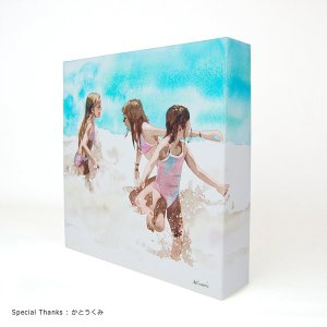 doArt. 3Dペーパーキャンバス お徳用5枚入|kawachigazai|02