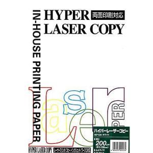 OAペーパー ITO-YA(イトーヤ) ハイパーレーザーコピー ホワイト(A4/25枚) 200g/平方メートル|kawachigazai