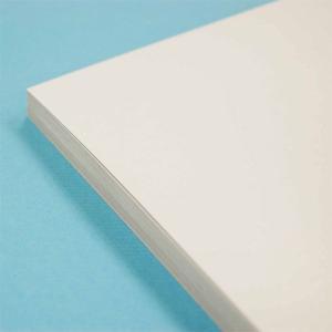 工作用紙・ペーパークラフト台紙 しっかり厚手の白い厚紙A4/30枚入|kawachigazai