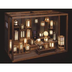 和風ミニチュア模型 創作楽座(そうさくらくざ) 行灯工房