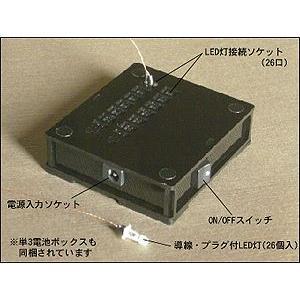 和風ミニチュア模型 創作楽座(そうさくらくざ) 行灯工房 専用照明セット|kawachigazai