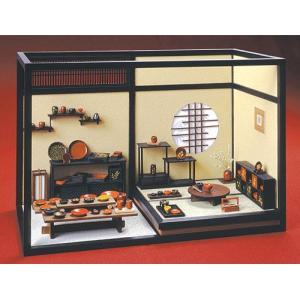 和風ミニチュア模型 創作楽座(そうさくらくざ) 漆器叙庵|kawachigazai