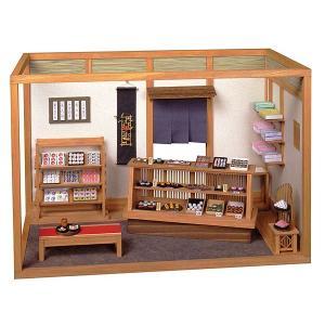 和風ミニチュア模型 創作楽座(そうさくらくざ) 和菓子撰華|kawachigazai