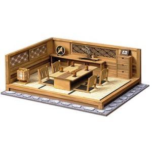 和風ミニチュア模型 創作楽座(そうさくらくざ) 和の設え 三畳タイプ 「涼風」|kawachigazai