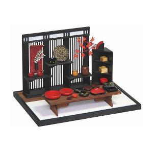 和風ミニチュア模型 創作楽座(そうさくらくざ) ミニシリーズ 漆器叙庵mini|kawachigazai