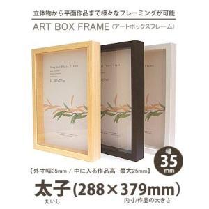 APJ アートボックスフレーム 幅35mm 太子 (たいし) (288×379mm) 深さ25mm / 立体物|kawachigazai