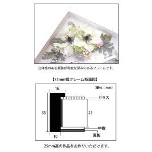 APJ アートボックスフレーム 幅35mm A3 (297x420mm) 深さ25mm / 立体物|kawachigazai|03