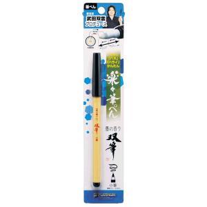 プラチナ万年筆 筆ペン双筆双雲モデルシングル CFS-250パック|kawachigazai