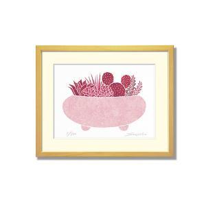 SoujirouArt (藤谷壮仁郎額装品) CPシリーズ (500部限定作品) 多肉植物寄せ植え CP-020|kawachigazai