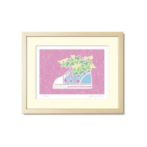 SoujirouArt(藤谷壮仁郎額装品)PPシリーズ(500部限定作品) キッズシューズのアイビー PP-019|kawachigazai