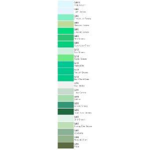 コピック バリオスインク 単色 緑色系 25cc|kawachigazai