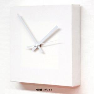 doArt. 白いキャンバス時計 手作りキット|kawachigazai|02