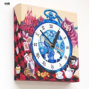 doArt. 白いキャンバス時計 手作りキット|kawachigazai|06