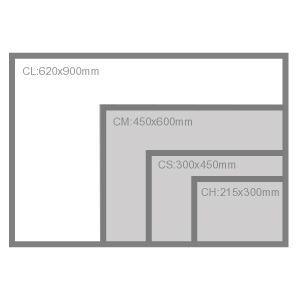 カッターマット ウチダ カッティングマット CL 900×620×t3mm(5cm方眼)|kawachigazai