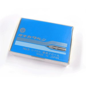 在庫限り・旧価格タチカワ(Tachikawa)Gペン先 1グロス 144本入|kawachigazai
