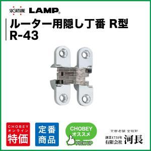 R-43 LAMP 隠し蝶番