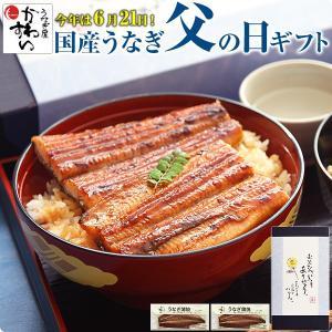 父の日 プレゼント ポイント5倍 国産 うなぎ 蒲焼き 特大サイズ170g×2本セット ウナギ 鰻 ギフト|kawaguchisuisan