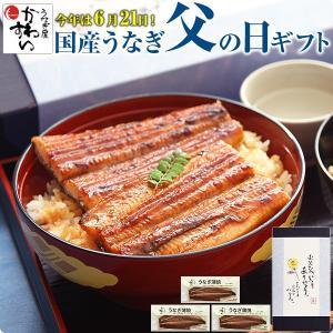 父の日 プレゼント ポイント5倍 国産 うなぎ 蒲焼き 特大サイズ170g×3本セット ウナギ 鰻 ギフト|kawaguchisuisan