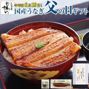 父の日 国産 うなぎ 蒲焼き|kawaguchisuisan