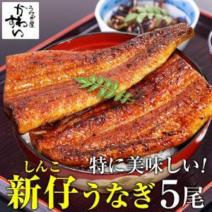 国産特大新仔うなぎ 170g-199g×5本(ウナギ 鰻 蒲...