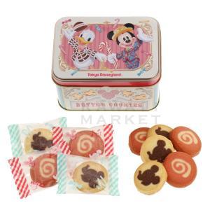 東京ディズニーリゾート ミッキーマウス ドナルドダック クッキー ディズニーランド限定グッズ 缶入り