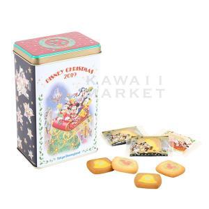クッキー缶 ディズニー・クリスマス2019 お菓子 ミッキー ミニー 小分け プレゼント ディズニー...