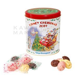 チョコレートクランチ 缶 ディズニー・クリスマス2019 お菓子 ミッキー ミニー 小分け プレゼン...
