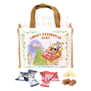 アーモンドチョコレートバー バッグ ディズニー・クリスマス2019 お菓子 小分け プレゼント ディ...