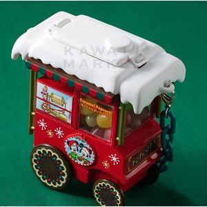 ミニスナックケース ディズニー・クリスマス2019 お菓子入れ 小物入れ ミッキー ミニー ワゴン クリスマスタイム ディズニーシー グッズ お土産