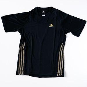アディダス ランニング ウェア メンズ Tシャツ RP689 ブラック|kawaisports