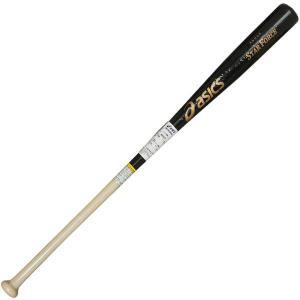 アシックス 野球 ノックバット スターフォース 木製ノックバット BB0901 ブラック×ナチュラル|kawaisports