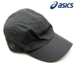 アシックス ランニング ウェア 帽子 ランニングUVクロスキャップ メンズ XXC206 パフォーマンスブラック|kawaisports