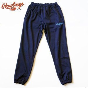 ローリングス 野球 トレーニングウェア スウェット ジョガーパンツ ロング丈 AOP7F04 ネイビー|kawaisports