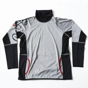 ローリングス 野球 トレーニングウェア AOS5S12 長袖 トレーニングシャツ グレー|kawaisports