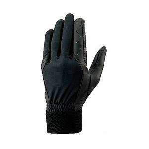 メール便送料無料 ゼット ZETT 野球 守備用手袋 BG259 ブラック|kawaisports