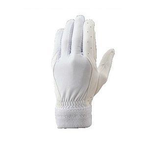メール便送料無料 ゼット ZETT 野球 守備用手袋 BG259 ホワイト|kawaisports