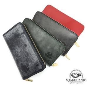 SHLW-due-Bridle Leather ロングウォレット|kawakichi