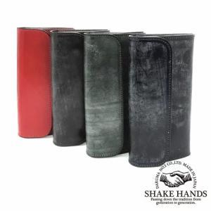 SHLW-qua-Bridle Leather ロングウォレット|kawakichi